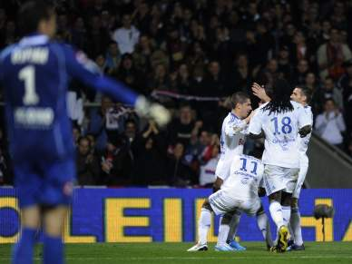 Pied marca golo da vitória do Lyon sobre Nice