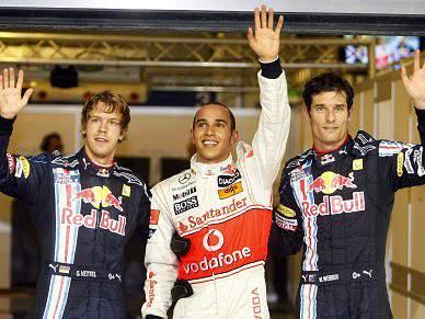 Vettel, Hamilton e Alonso satisfeitos com grelha de partida