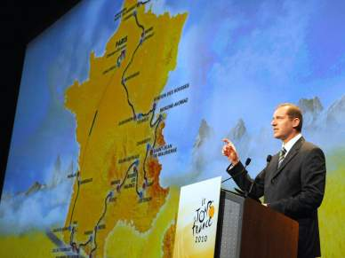 Contador e Armstrong aquecem Tour 2010