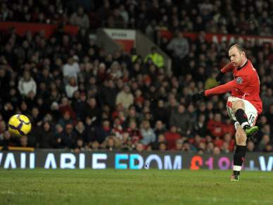 Poker de Rooney no regresso de Nani