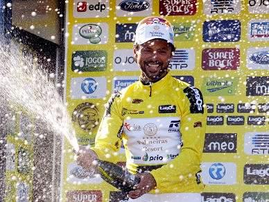 Cândido Barbosa conquista camisola amarela