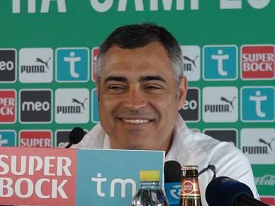 «Somos o Sporting e temos de aguentar a pressão»