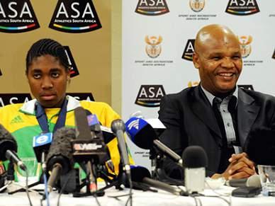 Chuene suspenso da presidência da federação sul-africana