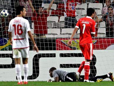 Benfica com viagem antecipada