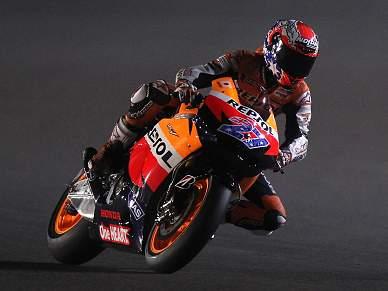 Honda domina segunda sessão de treinos