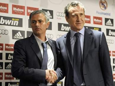 Mourinho nega quaisquer problemas com Valdano