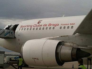 Braga já aterrou em Dublin