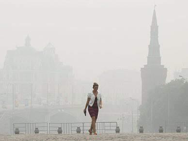Spartak e CSKA abandonam Moscovo devido ao calor e fumo