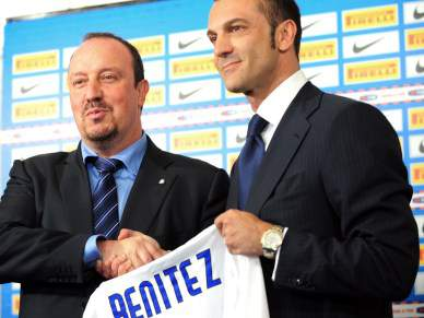 Moratti exige Mundial de Clubes a Benitez