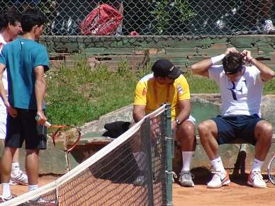 Roger Federer entra em acção