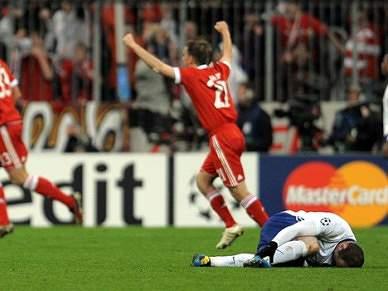 Wayne Rooney não joga com o Bayern Munique
