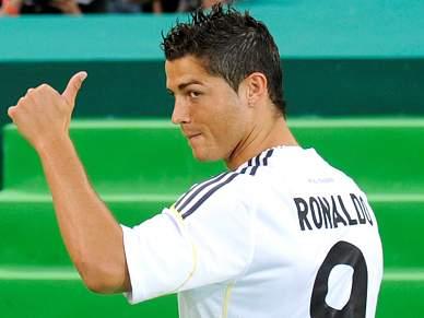 Ronaldo é titular