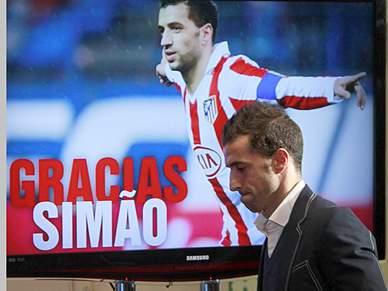 """""""Dói-me muito sair"""" do Atlético"""