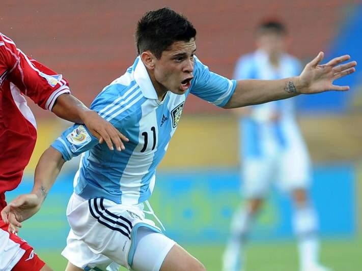 Messi elogia jogo de Iturbe na seleção sub-20