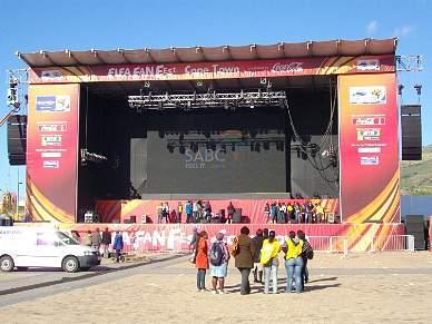 Cidade do Cabo promete a 'mãe de todas as festas'