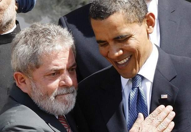 Lula da Silva apoia candidatura inglesa