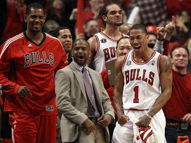 Chicago Bulls adiantam-se na final