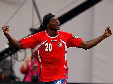 Jogador da Costa Rica morre em acidente de viação