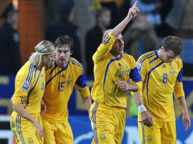 Ucrânia assegura play-off