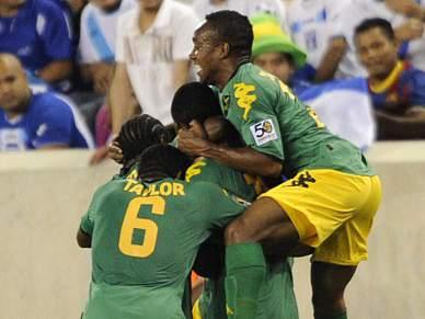 Jamaica, Honduras e Guatemala nos quartos-de-final