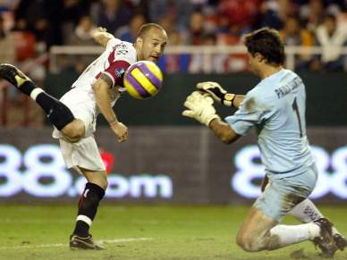 Braga perdeu o único duelo com o Sevilha