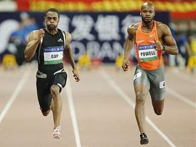 Asafa Powell vence nos 100 metros
