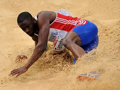 Tamgho bate recorde do Mundo do triplo salto