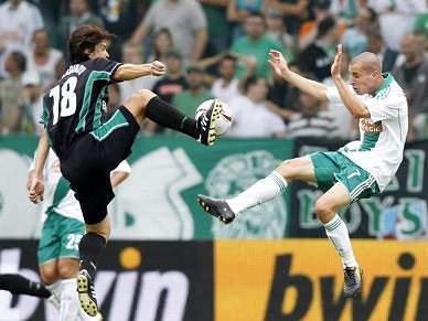 Rapid Viena empata 1-1 com SC Wiener Neustadt