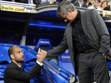 Mourinho e Guardiola em novo tira-teimas
