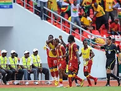 Gana afasta Burkina Faso e encontra Angola nos 'quartos'