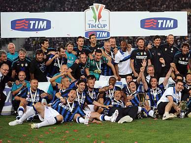Inter vence Palermo e conquista sétima Taça