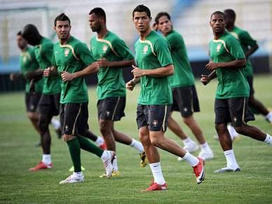 Portugal joga hoje a sua qualificação