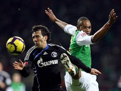 Schalke 04 trava Werder Bremen