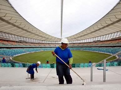 FIFA pede a Portugal e Brasil para prescindirem do treino em Durban
