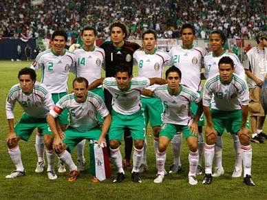 México vence Chile de Matías Fernandez
