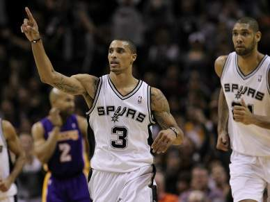 San Antonio Spurs vencem Los Angeles Lakers
