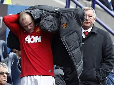 Rooney parado duas a três semanas