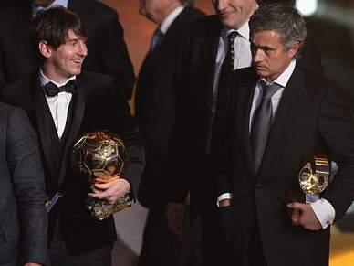 Mourinho e Messi foram os reis