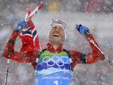Norueguês Bjoerndalen alcança 11.ª medalha