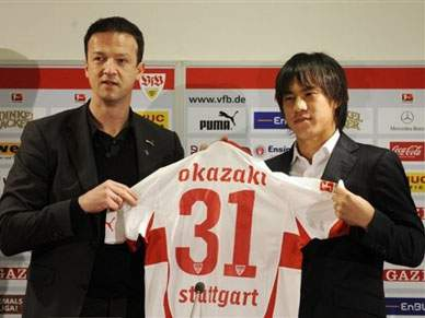 Estugarda contrata Okazaki