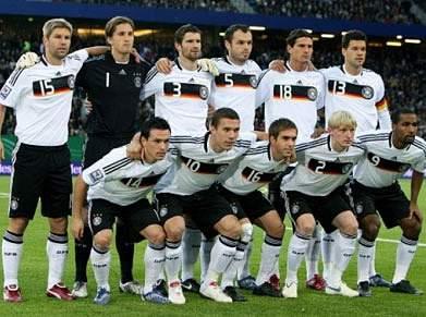 Alemanha nos quatro melhores pela 12.ª vez