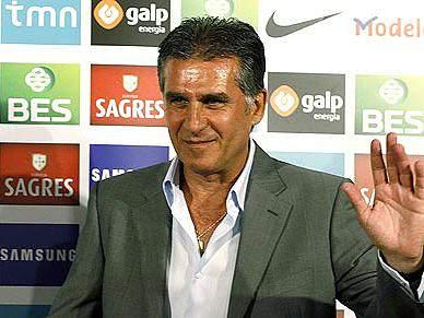Carlos Queiroz já via Coentrão como lateral
