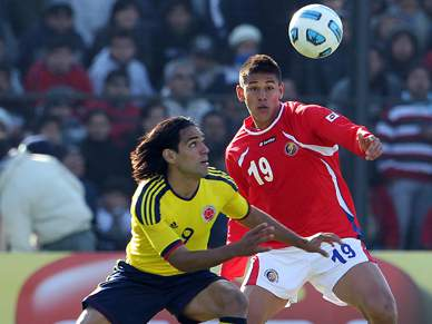 Colômbia bate Costa Rica