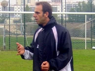 Rui Gregório no comando técnico do Belenenses