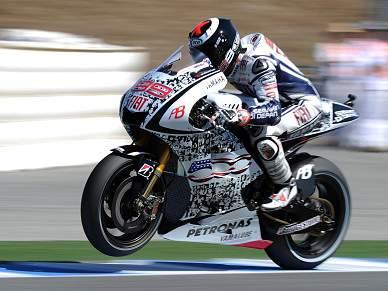 Lorenzo vence em Brno