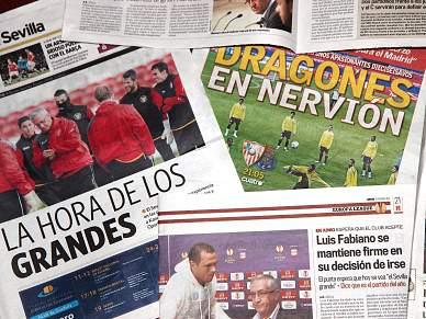 Imprensa sevilhana rendida ao FC Porto