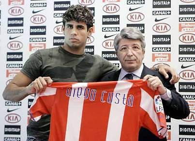 Diego Costa renova até 2012