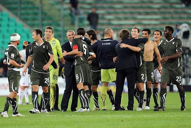 Lazio segue na frente