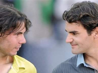 Final de sonho entre Nadal e Federer