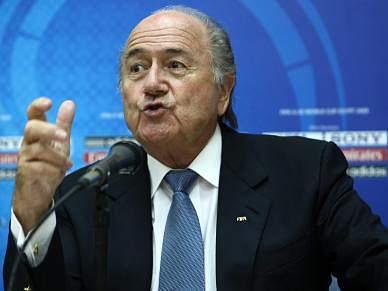 Joseph Blatter recebido por Ramos Horta